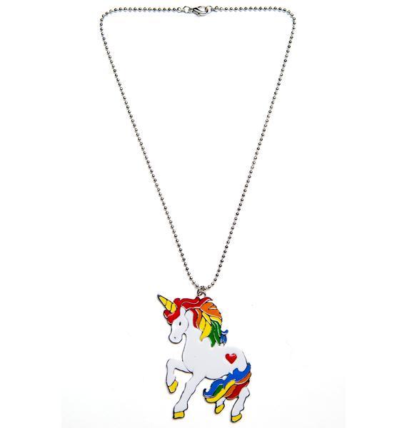 Unicorn Playdate Necklace