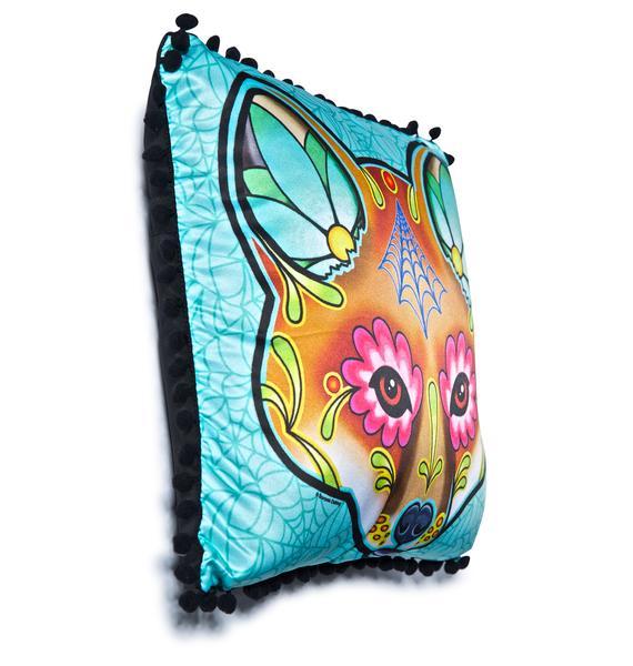 Sourpuss Clothing Fox Woodland Pillow