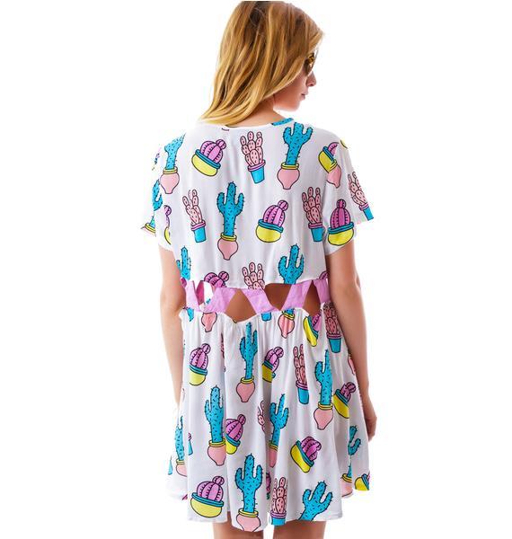 Lazy Oaf You Prick Gap Dress
