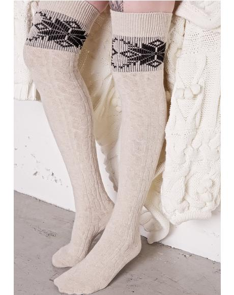 Let It Snow Socks