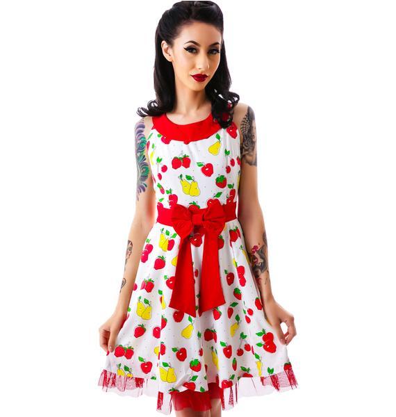 Sourpuss Clothing Vintage Fruit Dance Dress