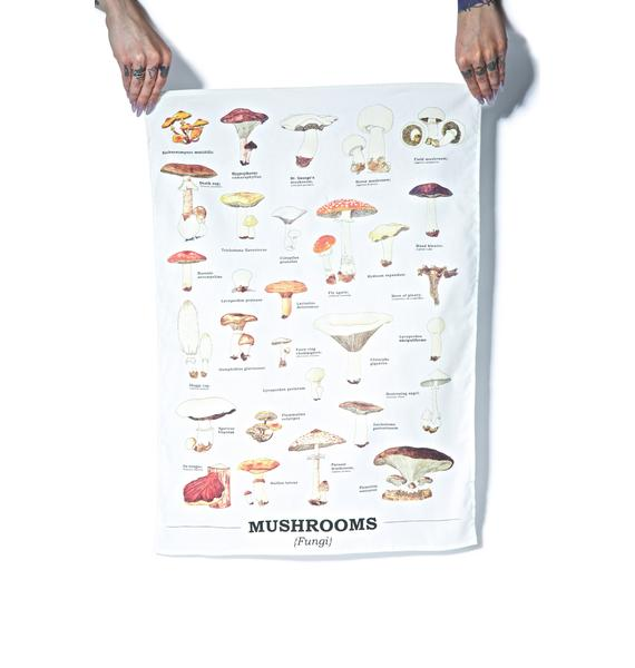 Shroomy Tea Towel