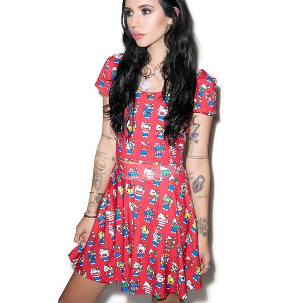 Japan L.A. Hello Kitty 40th Skirt