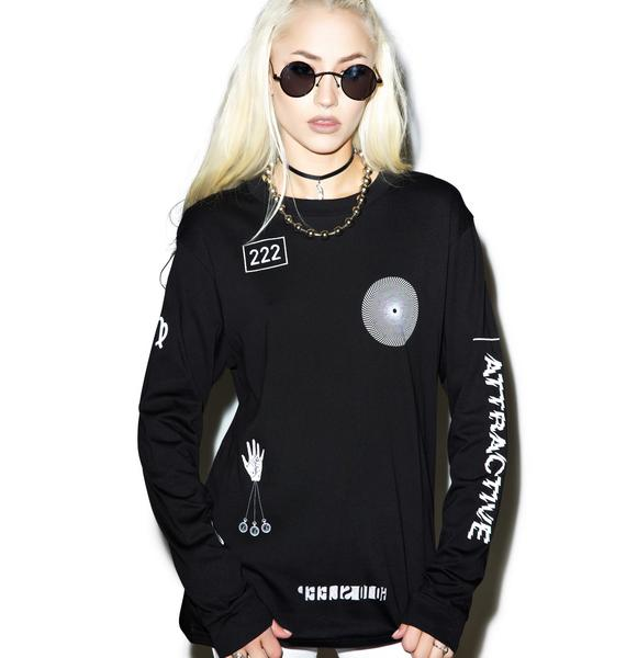 Cheap Monday Fan Long Sleeve Tee