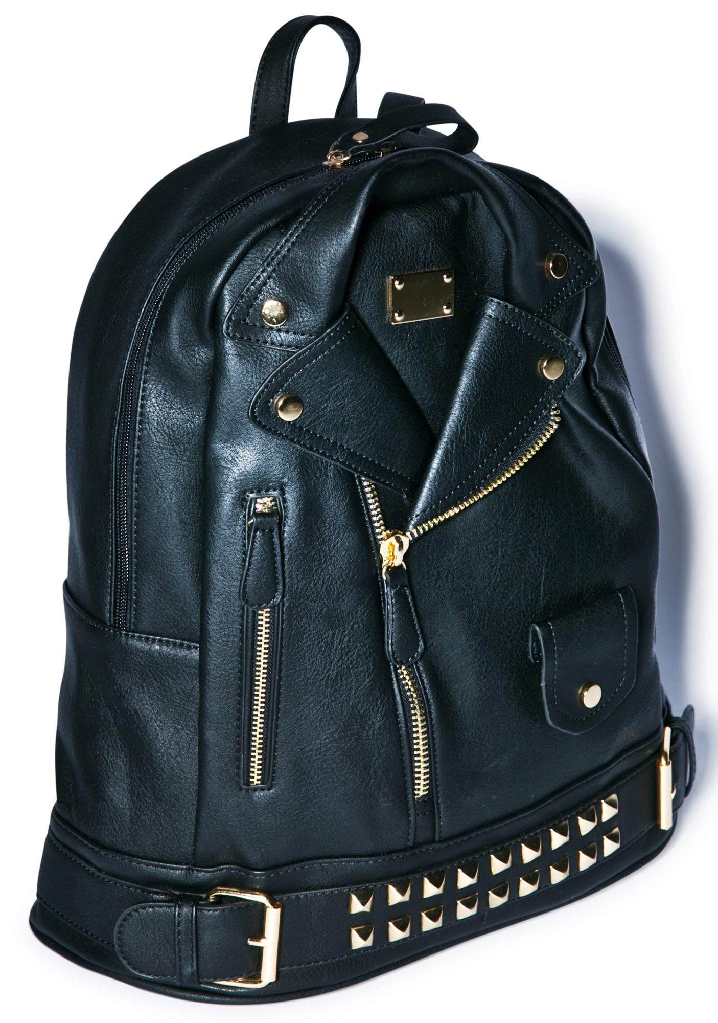 Moto Jacket Backpack