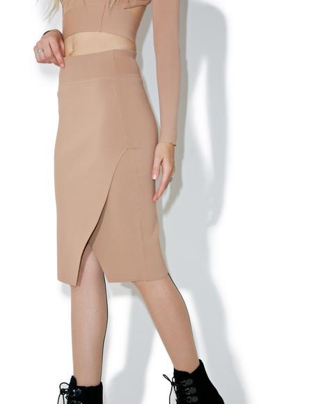 Compact Pencil Skirt