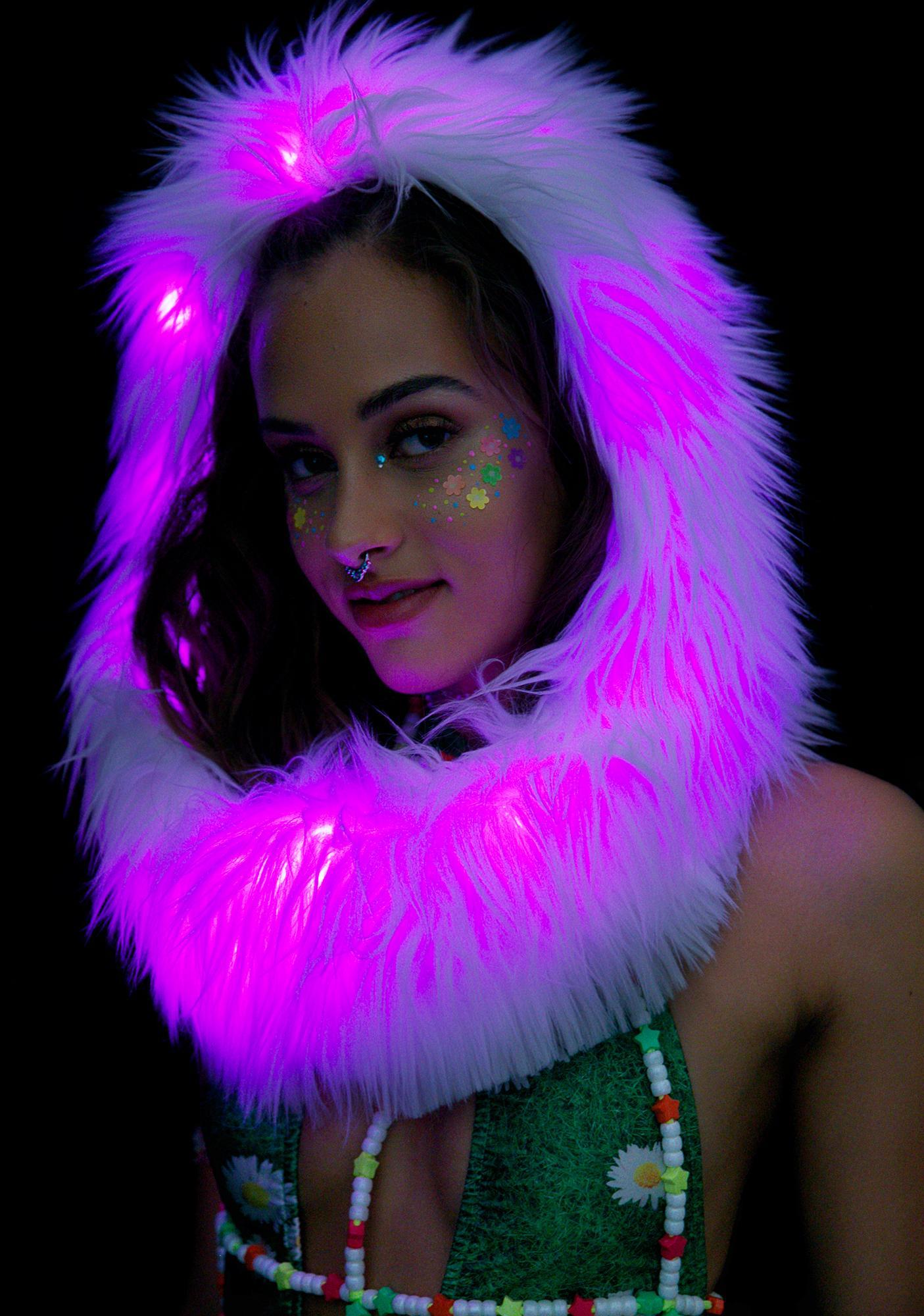 J Valentine Firefly Light-Up Infinity Hood