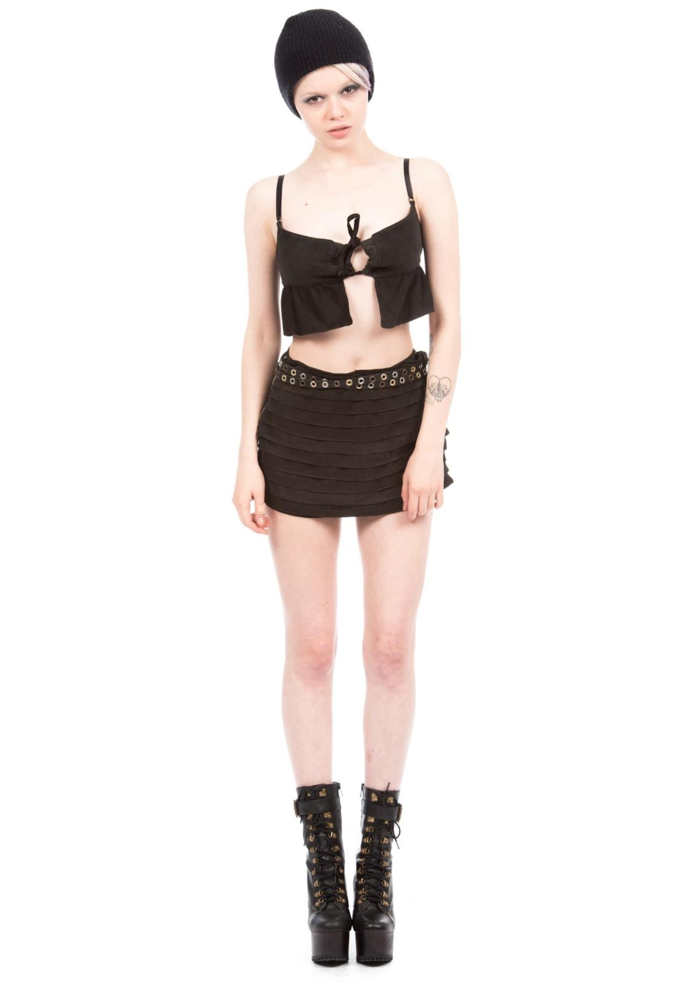 Bandelier Crop Top