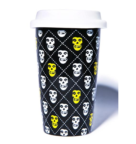 Sourpuss Clothing Misfits Fiend Tumbler