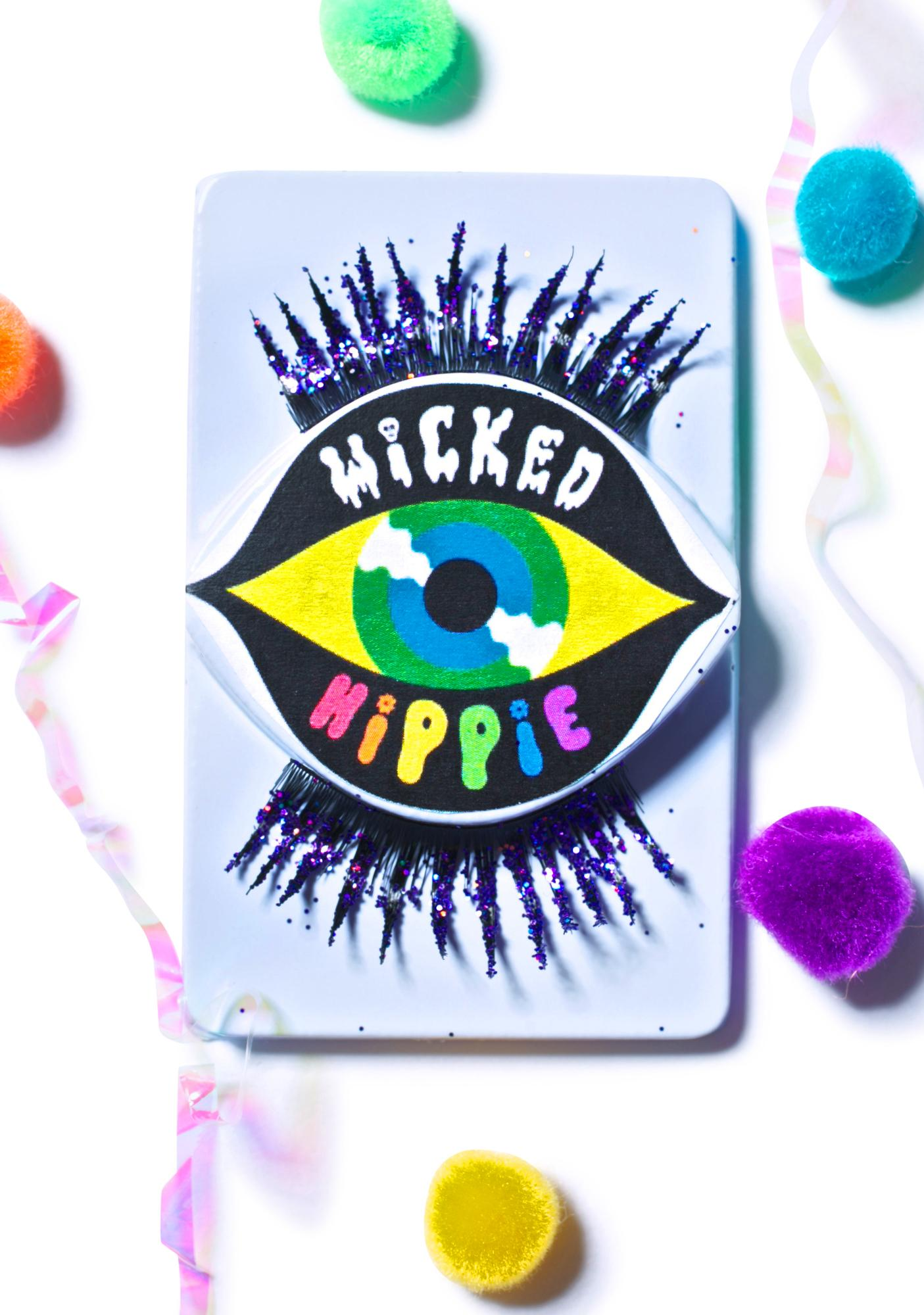 Wicked Hippie x Dolls Kill Mercy Glitter Death Lashes