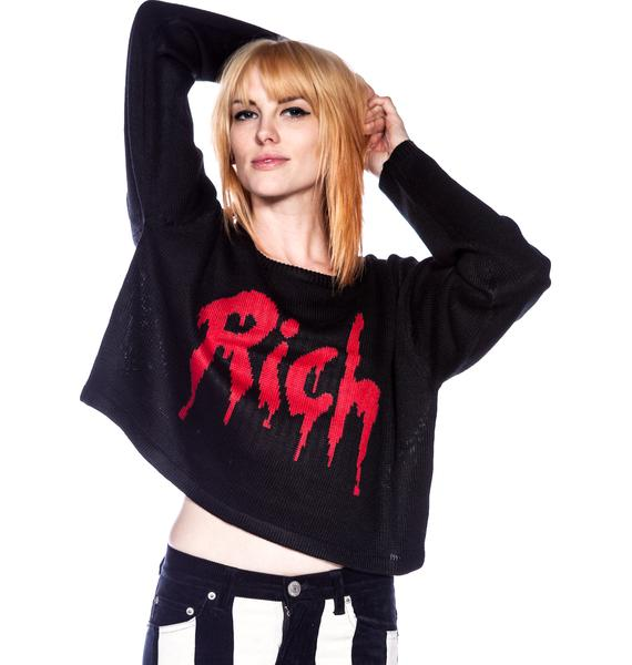 Joyrich Drop Rich Knit Crew Sweater