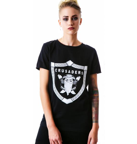 Bitching and Junkfood Crusaders Loose Fit Tee