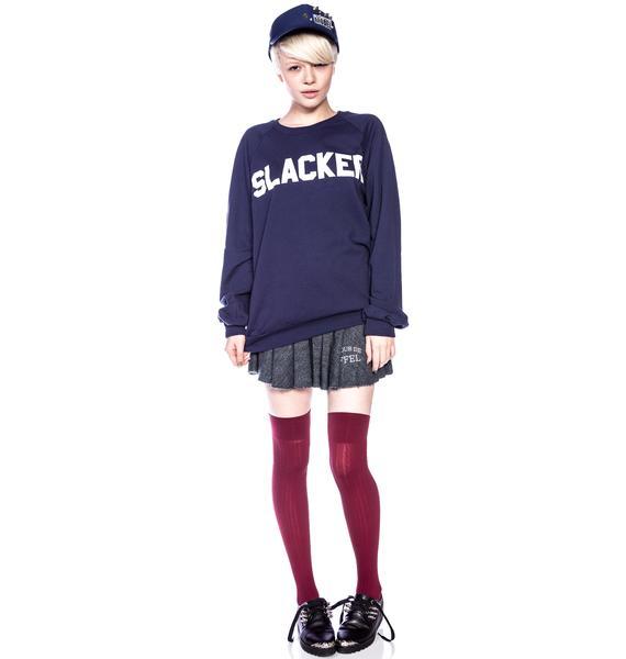 Jac Vanek Unisex Slacker Crew Neck Fleece Sweatshirt