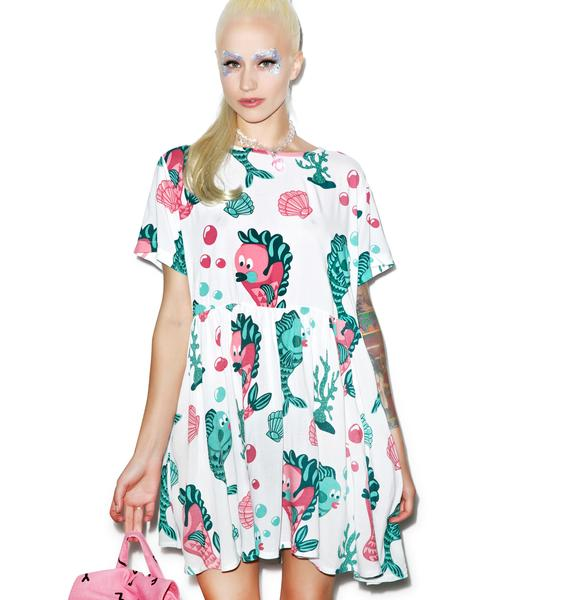 Lazy Oaf Under The Sea Dress