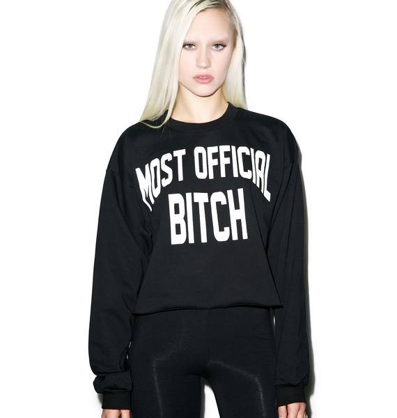 Married to the Mob New Mob City Crewneck
