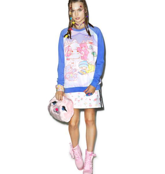 Japan L.A. Little Stars X Care Bears Winter Sweatshirt