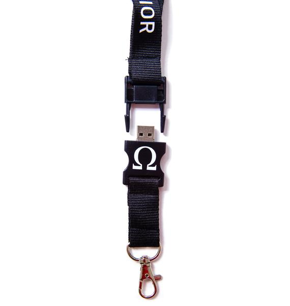 Long Clothing x Ulterior USB Keychain Lanyard