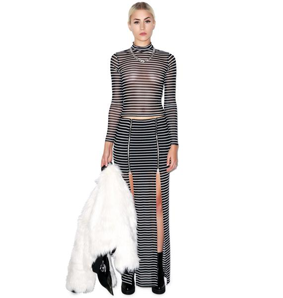 Evil Twin Fall In Line Mesh Skivvy