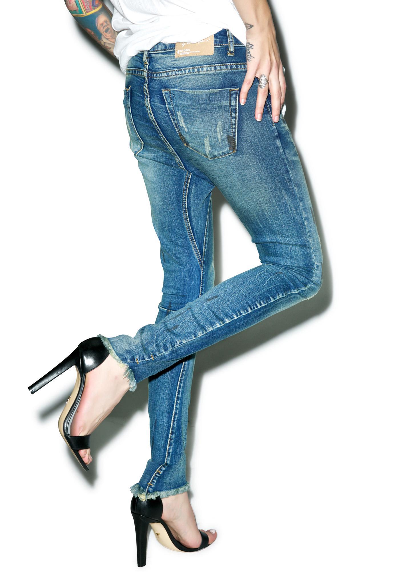 One Teaspoon Blue Marine Kidd Jeans