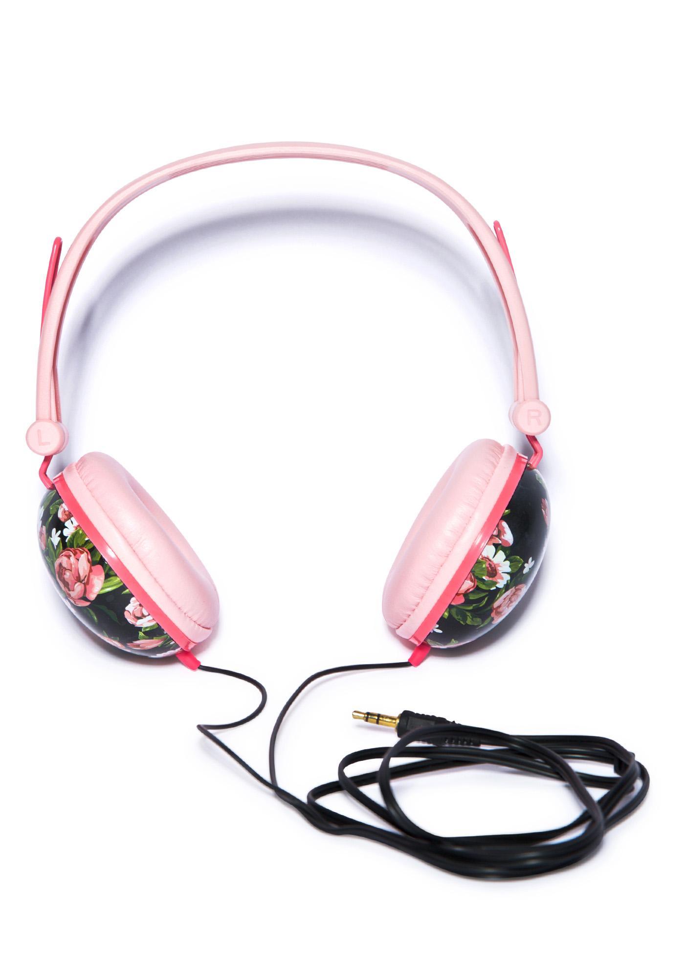 Floral Fiend Headphones