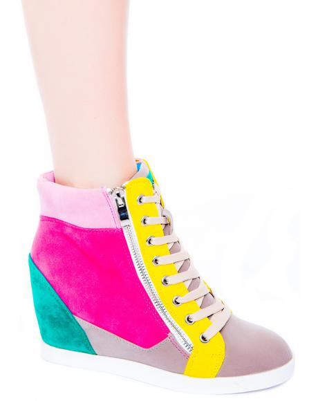 Highline Sneaker Wedge