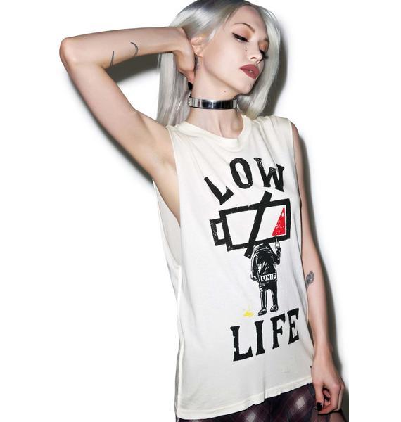 UNIF Low Life Sleeveless Tee