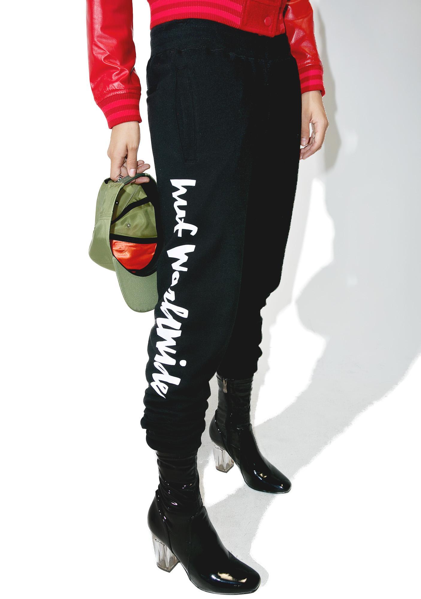 HUF Chunk Worldwide Fleece Pants