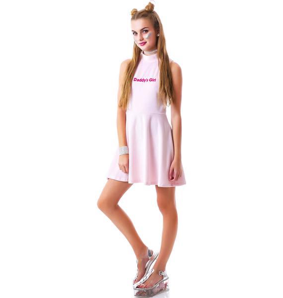 United Couture Daddy's Girl Velvet Sugar Dress