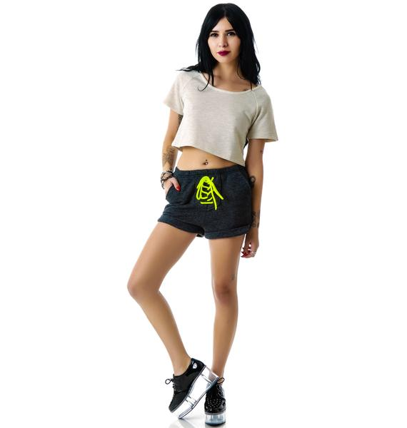 Put Yer Heart Into It Cutout Crop Top