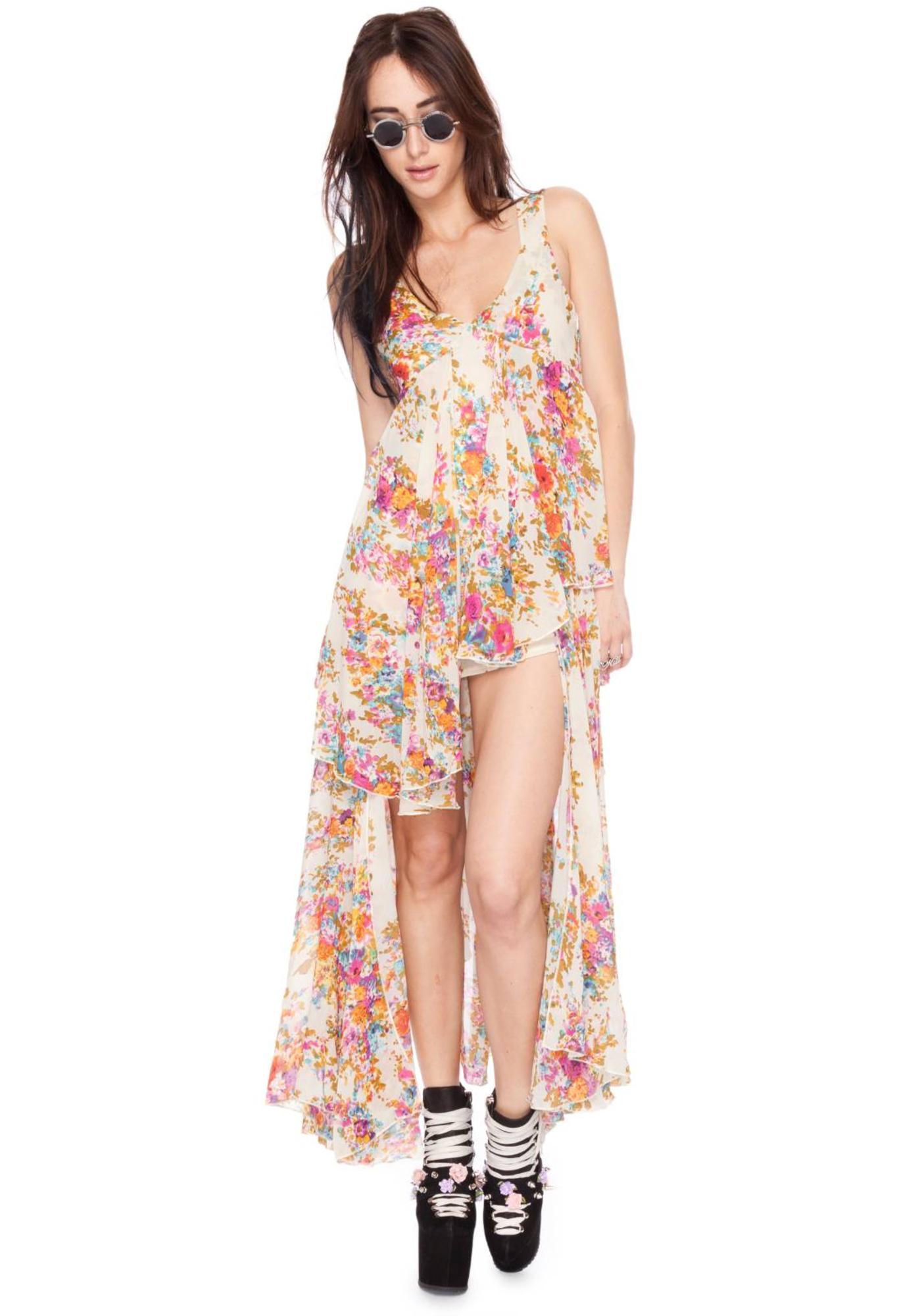UNIF Flounce Dress