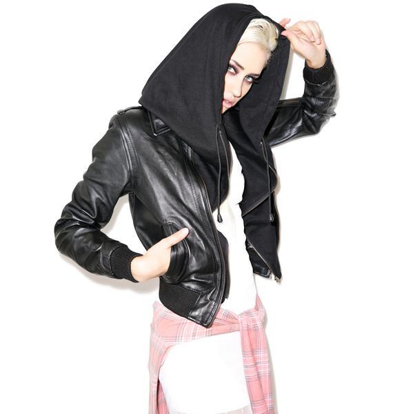 Killstar Widow Hood Jacket