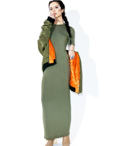 Bae-Sick Maxi Dress