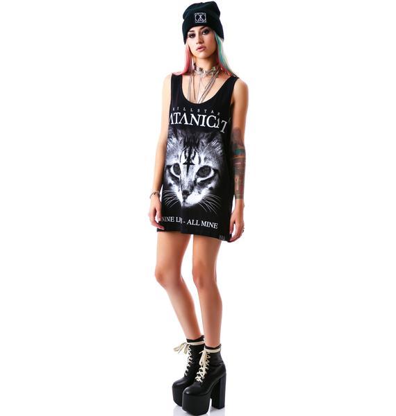 Killstar Satanic Cat Tank