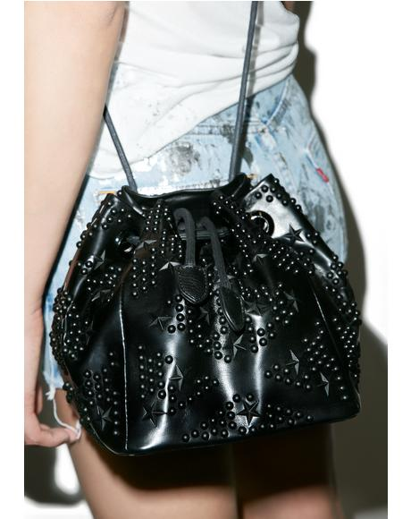 Studded Nights Bucket Bag