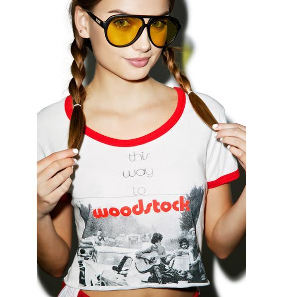 Somedays Lovin This Way To Woodstock Tee