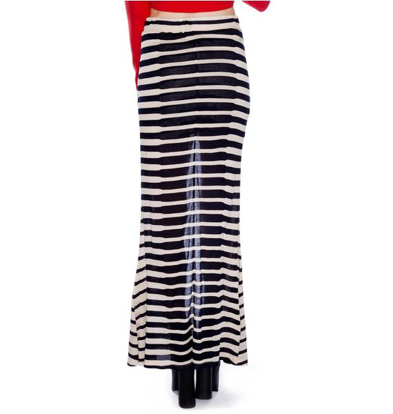 AGAIN Clement Maxi Skirt
