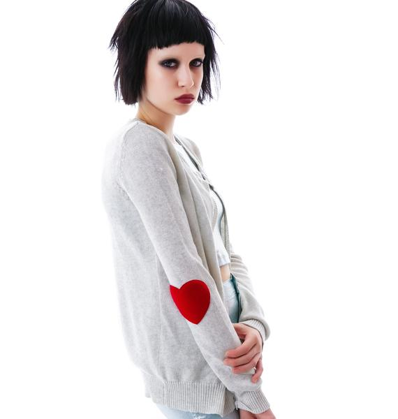 Ever Ever After Heart Cardigan