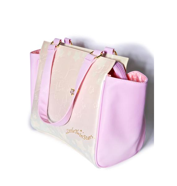 Sanrio Little Twin Stars Unicorn Tote