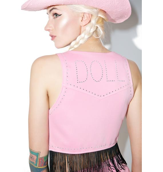 Dolls Kill Country Cowgirl Kitten Costume Set