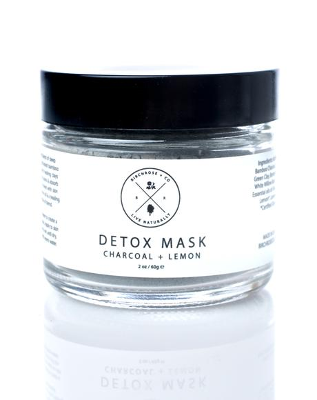 Charcoal + Lemon Detox Mask