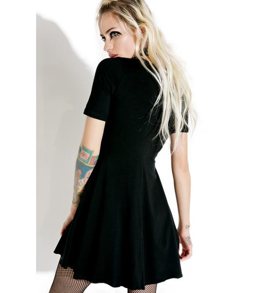 Current Mood Uprising Lace-Up Dress