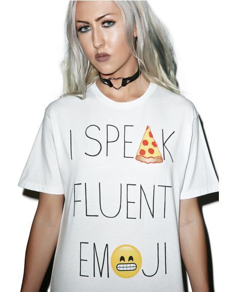 Fluent in Emoji Tee