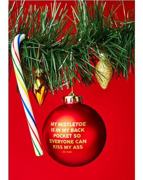 Mistletoe Ornament
