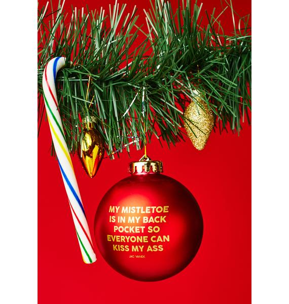 Jac Vanek Mistletoe Ornament