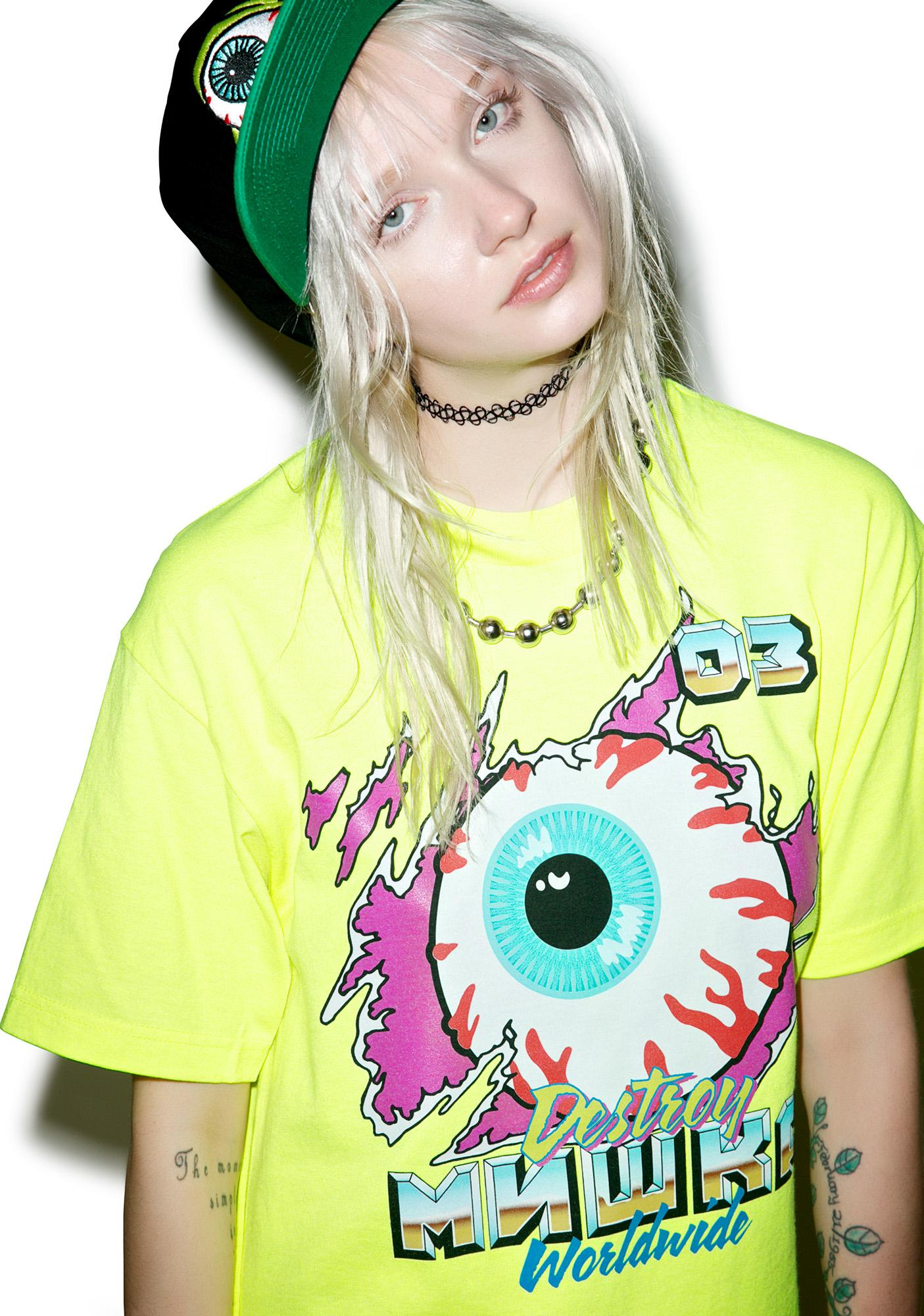 Mishka Demo Derby Keep Watch Tee