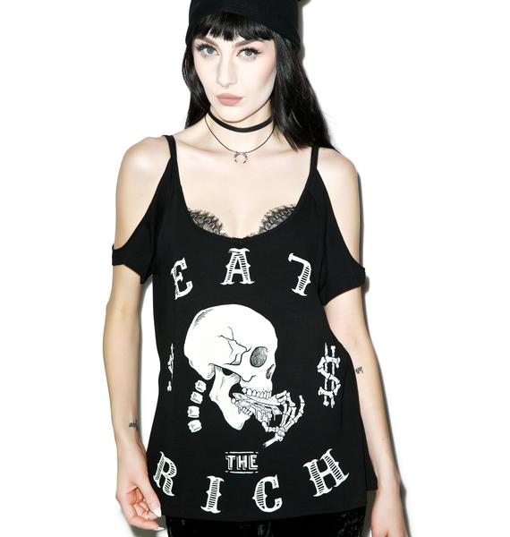 Eat Rich Damnation Tee