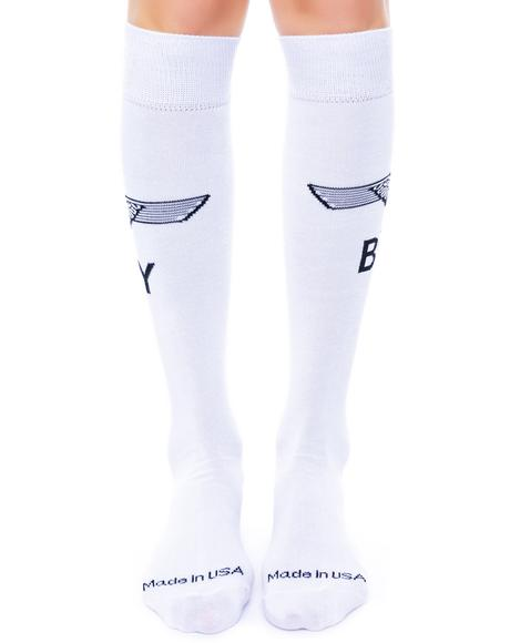 Eagle Boy Knee Socks