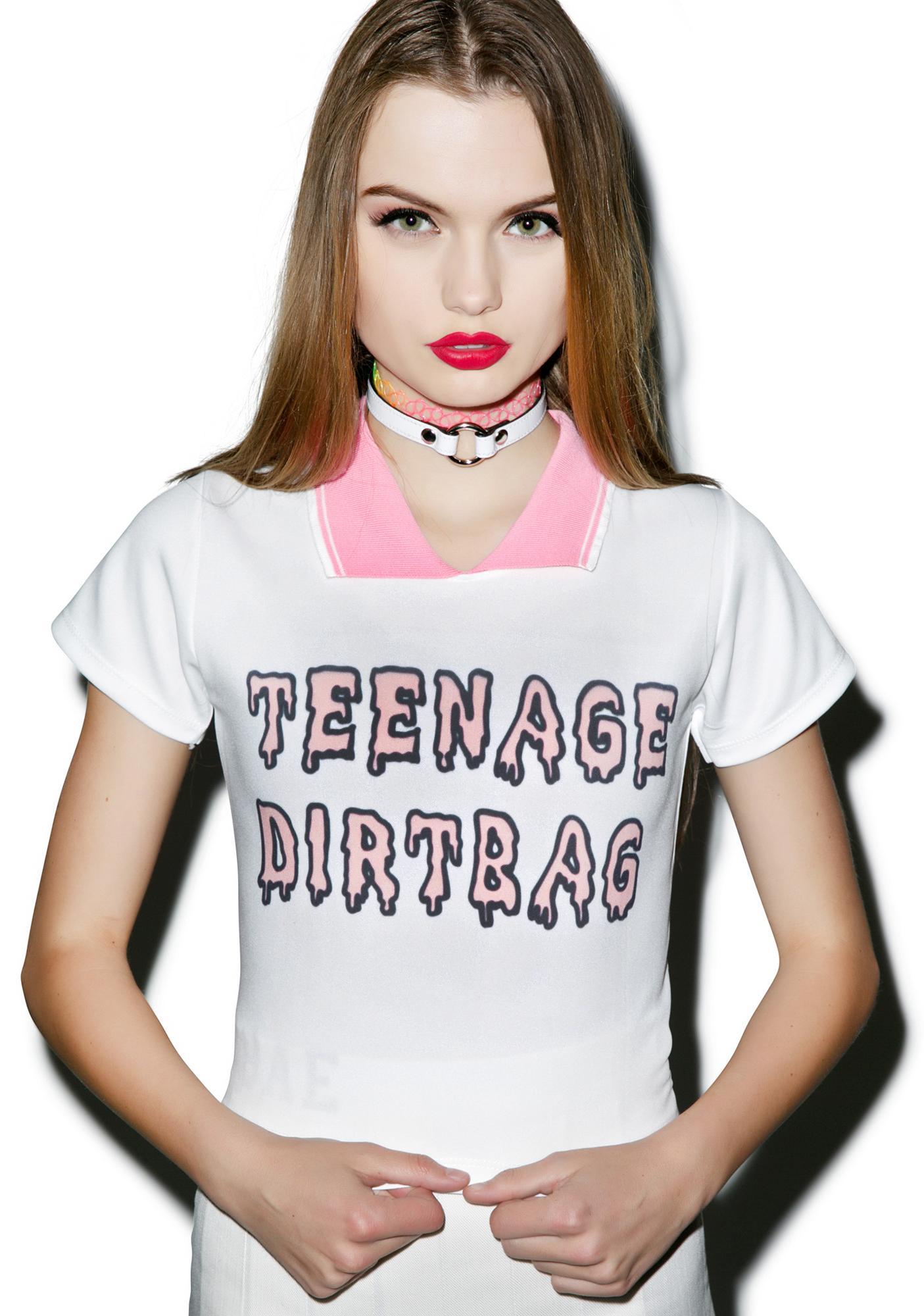 Teenage Dirtbag Polo Tee