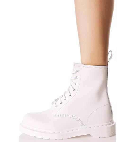Dr. Martens Mono 1460 8 Eye Boots