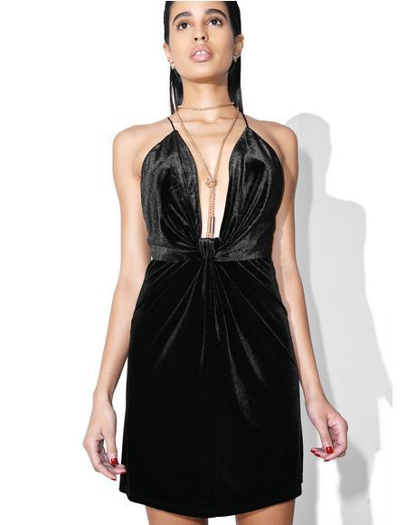 Nighttiming Mini Dress